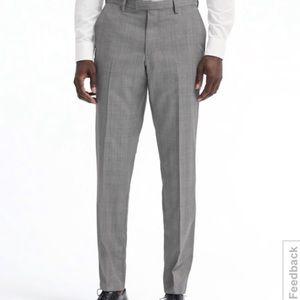 NEW Banana Republic Tailored Slim Fit Gray Pants